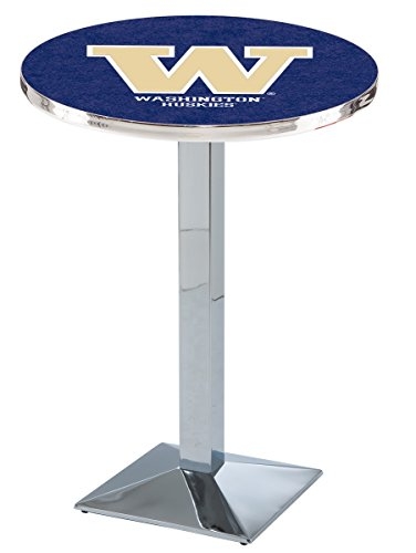 Holland Bar Stool L217C University Of Washington Officially Licensed Pub Table, 28