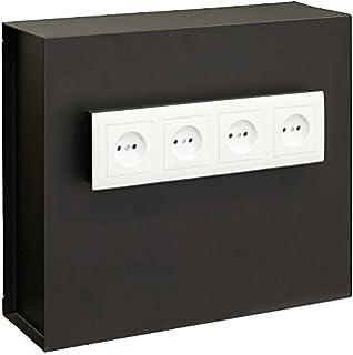 Arregui Caja Fuerte camuflada para Rejilla Enchufe Color Negro 23000W-S2