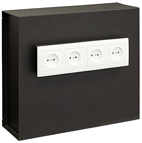 Arregui Caja Fuerte camuflada para Rejilla Enchufe Color Negro 23000W-S2: Amazon.es: Bricolaje y herramientas