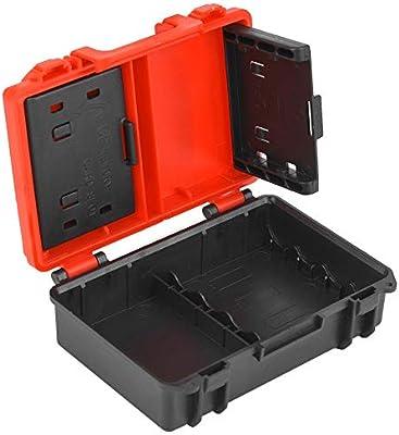 Caja de almacenamiento de la batería de la cámara y la tarjeta de ...