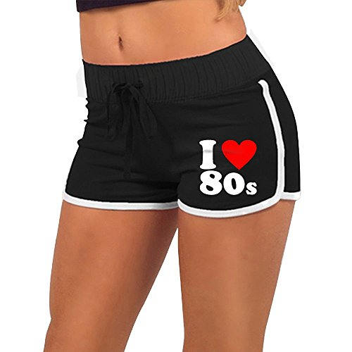 * NEW * Elastic Waist Activewear 80s Workout/Running Shorts - S to XXL