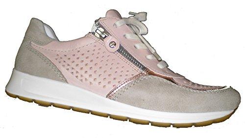 Ara 12-34556 Osaka mujer Sneaker rosa/beige