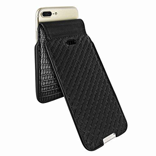 Piel Frama 771 Black Lizard UltraSliMagnum Leather Case for Apple iPhone 7 Plus / 8 Plus by Piel Frama (Image #2)