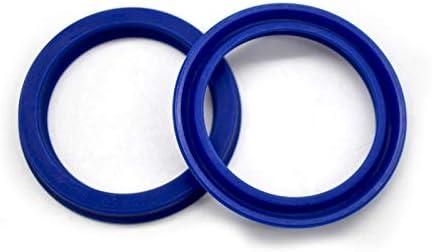 Size: 22.4 x 30 x 5mm Gimax 10PCS UN Polyurethane Hydraulic Cylinder Oil Seal PU o Ring