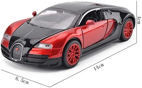 YN モデルカー 合金ブガッティssカーモデルのおもちゃクラシックカーレトロタクシーモデルテーブルデコレーションコレクションおもちゃ子供のためのギフト ミニカー