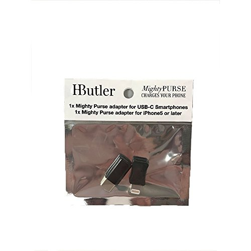 HButler 4000mAh Mighty Purse Suede Wristlet for Apple/Android Phones - Rust by HButler (Image #3)