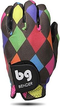 BG Spandex Golf Gripping Gloves for Men, Right Handed Golfing Accessories (Wear on Left Hand), Easy-Grip - BenderGloves
