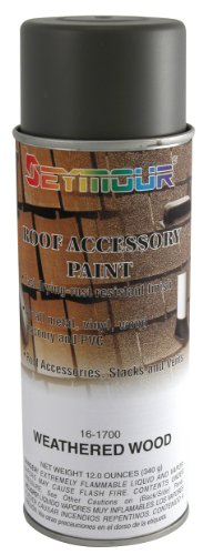 Seymour 16-1700 Roof Accessory Paint, Weathered Wood ()