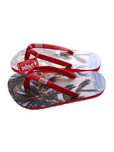 Unbekannt Enseada - Zapatillas de running para mujer rojo rojo