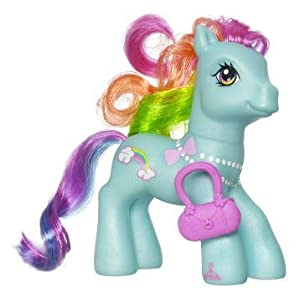 My Little Pony Cutie Mark Design Rainbow Dash Pony Figure Toys Games