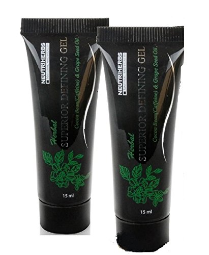 2 Neutriherbs Naturals Body Wraps Defining Gel Really works to Tone Tighten and Firm (2 x15 ML) Potent Fat Burning and Slimming Ingredients to Reduce Cellulite ()