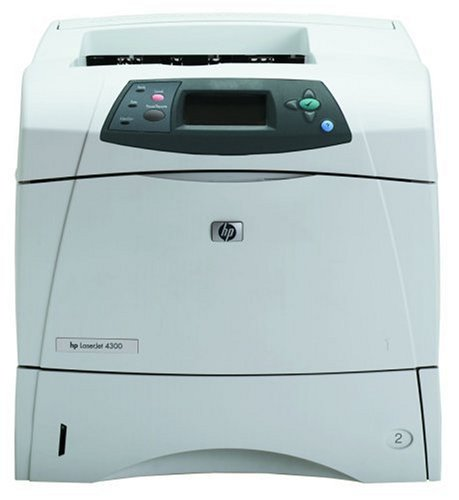HP LaserJet 4300 - Printer - B/W - laser - Legal, A4 - 1200 dpi x 1200 dpi - up to 43 ppm - capacity: 600 sheets - Parallel