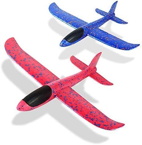 Flight Mode EEP Manual Inertia Airplane Durable Aircraft for Kids Ourdoor Sports Toy Set N//Y Foam Aircraft Model,Throwing Foam Glider Plane