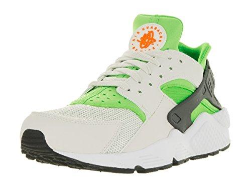 Nike Herren Air Huarache ACTION GREEN / VIVID ORANGE-PHANTOM-WEISS