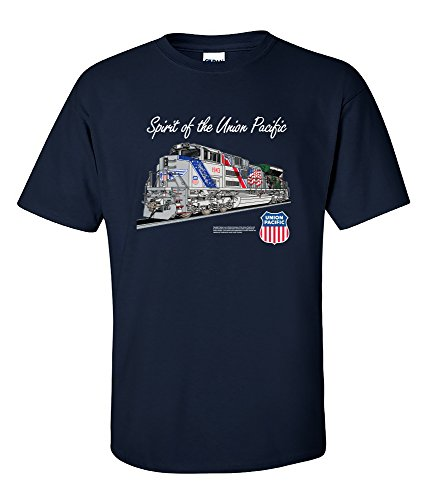 The Spirit Of The Union Pacific Railroad T-Shirt Kids Medium (10-12) [137]