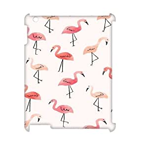 Cheap 3D iPad2,iPad3,iPad4 Case, Flamingo quote New Fashion Phone Case
