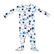 Dallas Cowboys Colby Navy Blue Infant Sleeper 12 Months