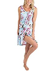 Women's Maternity Dress Labor Delivery Hospital Gown Nursing Breastfeeding Nightgown Floral Tank Dress