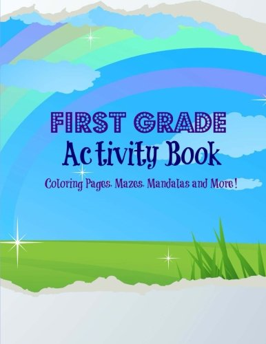 First Grade Activity Book (Extra Large Activity Books for Kids-8 x ...