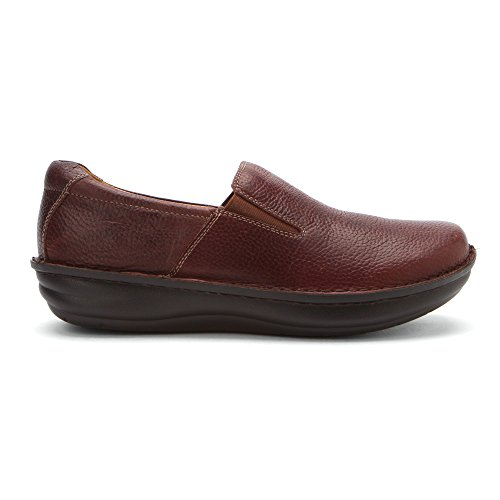 Tumbled Wax Alegria Choco Alegria Loafers Mens Shoes Oz Mens Oz fUOzw
