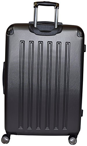 Kenneth Cole Reaction 8 Wheelin Expandable Luggage Spinner Suitcase 29'' (Pewter)