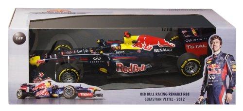 1/18 レッドブル レーシング ルノー RB8 S.ベッテル 2012 110120001