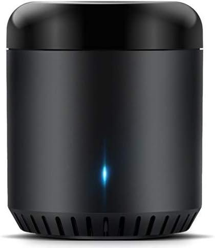 TALLA mini3 de RM. Broadlink Centro infrarrojos funciona con alexa amazon, rm 3 casa inteligente cxión wi-fi habilitado infrarrojo remoto, para todo el (frijol negro rm3-es)