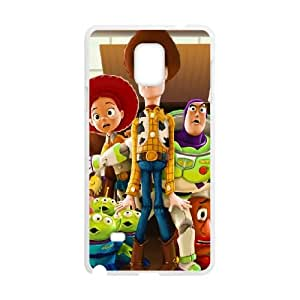 Toy Story 4 Samsung Galaxy Note 4 Cell Phone Case White