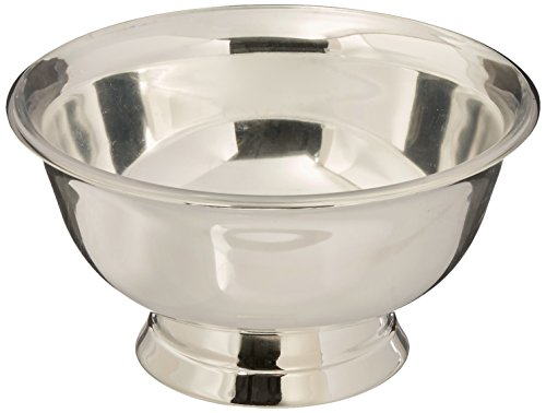 Elegance Silver 82576 Silver Plated Revere Bowl with Liner, (6 Inch Bowl)