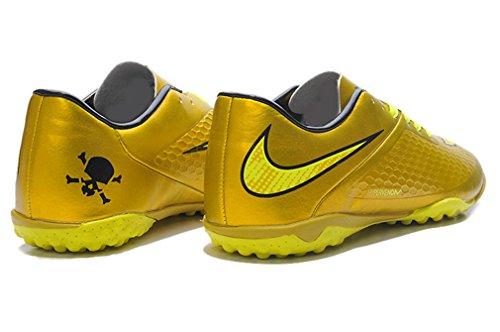 Herren HYPERVENOM PHELON TF Gold Low Fußball Schuhe Fußball Stiefel
