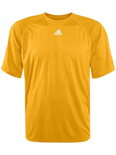 Sleeve Yellow Adidas Short Climalite Shirt Men's WOqn1Fxw48