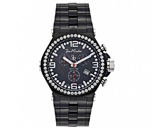 Joe Rodeo Diamond Men's Watch - PHANTOM black 3.25 ctw