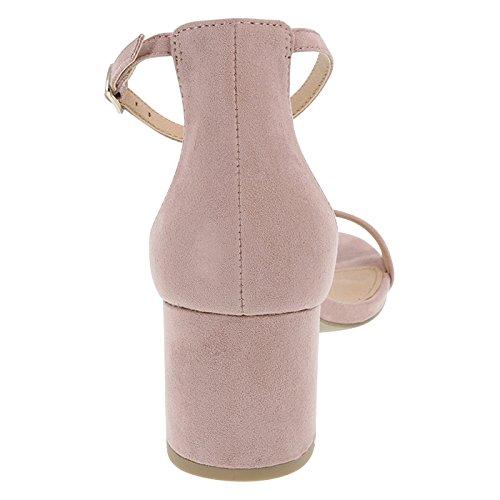 Fabric Blush 8 Block Brash Brash Womens Blush Wide Naomi Heel wqEtdY8