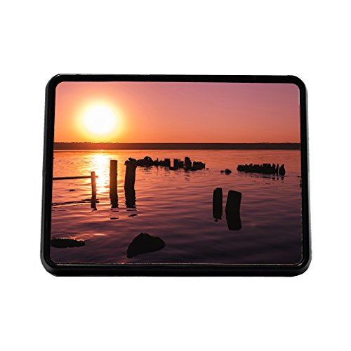 Landscape With Sunset Over Lake Truck Hitch Cover Receiver by Style in Print