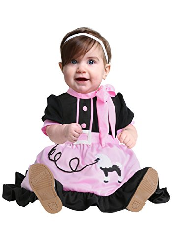 Michael Jackson Costume For Toddler (50s Poodle Skirt Infant Costume 12/18 Months)