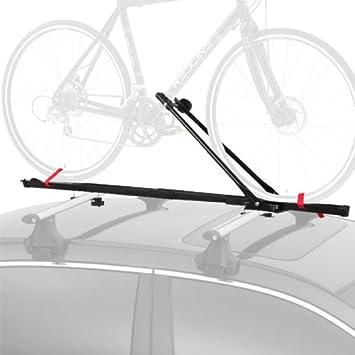 Cyclingdeal 1 Bike Car Roof Carrier Rack Bicycle Racks With Lock