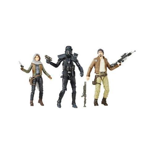 Star Wars Rogue One 5.5 Black Series Sergeant Jyn Erso Figure Jedha