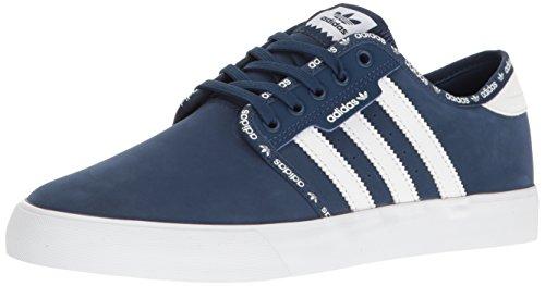 Adidas Originals Mens Scarpe Da Ginnastica Di Moda Seeley Mistero Blu / Bianco