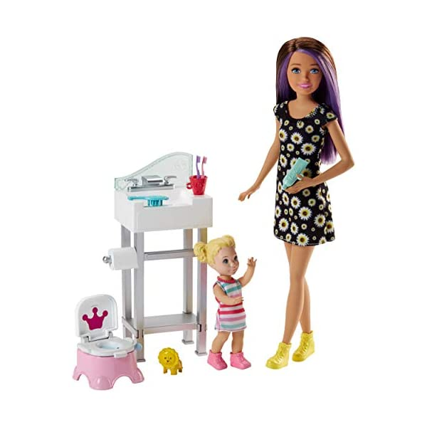 414ydLWl%2BYL. SS600  - Barbie Skipper Babysitters Inc. Doll and Accessory