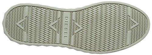 Diesel S-Studdzy Lace, Sneaker Uomo Bianco (White)