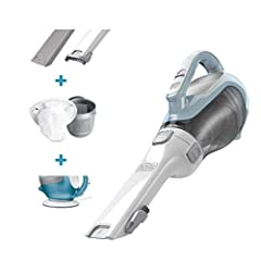 BLACK + DECKER CHV1410L 16 volt Lithium Cordless Dust Buster Hand Vac Ideal for Any Quick Pick Up Ideal for Quick Pick Up The sleek CHV1410L boasts lithium technology, strong suction and fade free power. With a translucent bag less dirt bowl,...