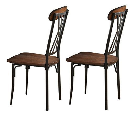 Kings Brand Furniture Ash Finish Wood wi - Metal Dinette Set Shopping Results