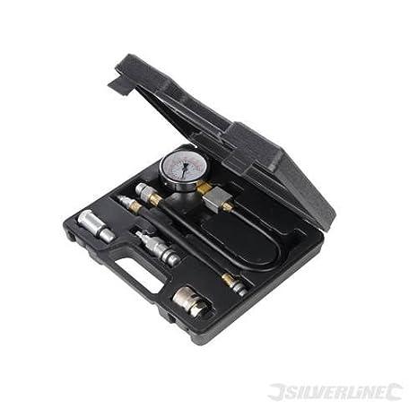 Automotive mecanismo Tools Motor de gasolina de compresión Test Kit de 5 piezas 5 piezas característicos