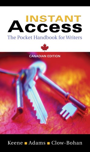Instant Access: The Pocket Handbook for Writers, First Edition