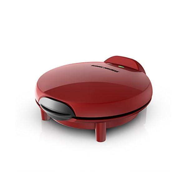 George Foreman Electric Quesadilla Maker, Red, GFQ001 414yeRiGBdL