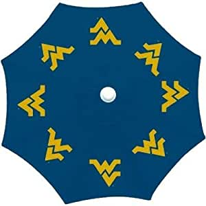 Diseños de temporada ctu172Collegiate Patio paraguas W. Virginia