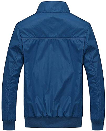 Winter Hellblau Force Air Lightweight Autumn Mens Comfortable Bomber Men's Jacket Large Fashion Parka Size Outwear Battercake Classic t0qxaf8w0H