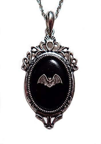 Gothic Victorian Silver Framed Pendant product image