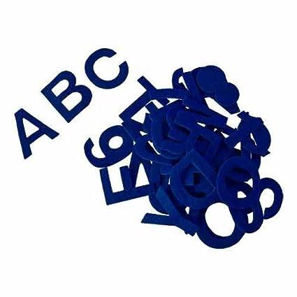 kit de 80 piezas aprox Alfabeto letras autoadhesivas de fieltro acr/ílico rojo 5 cm