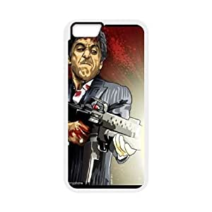Al-Pacino-Scarface iPhone 6 Plus 5.5 Inch Cell Phone Case White UD1365539